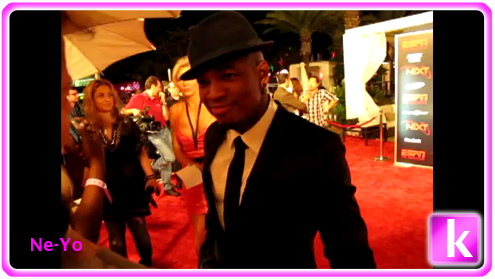 Ne-Yo Embraces KimzHollywoodList
