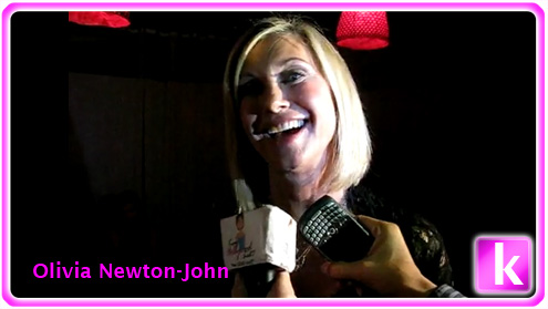 "Olivia Newton-John ""Pink and Blue Two"""