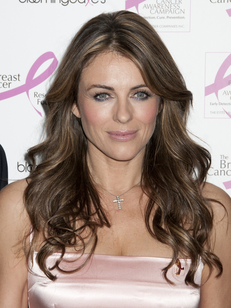 Elizabeth Hurley At Breast Cancer Event