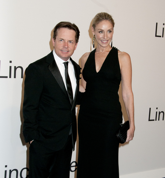 Michael J. Fox Attends Fundraiser