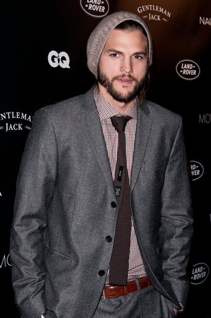 Ashton Kutcher Looking GQ