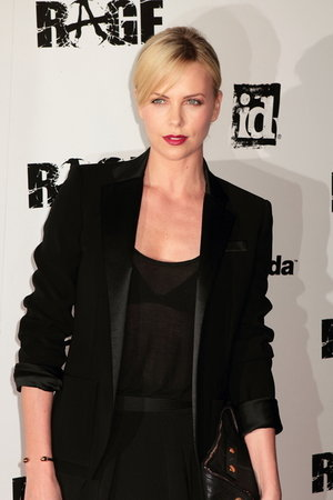 "Charlize Theron Hosts ""Rage"" Launch"