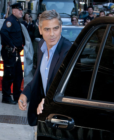 "Clooney at ""Ides of March"" NY Premiere"