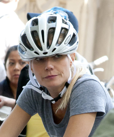 Gwyneth Paltrow in Central Park