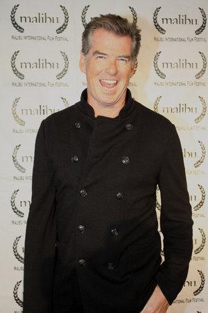 Brosnan Supports Malibu Film Festival