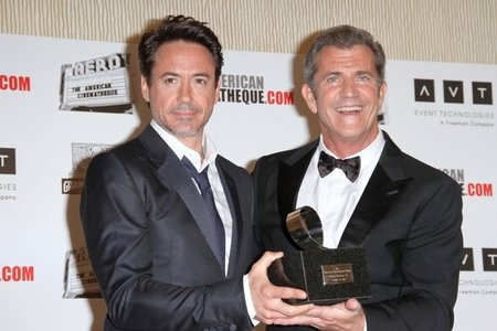 Robert Downey Jr. Honored by Mel Gibson