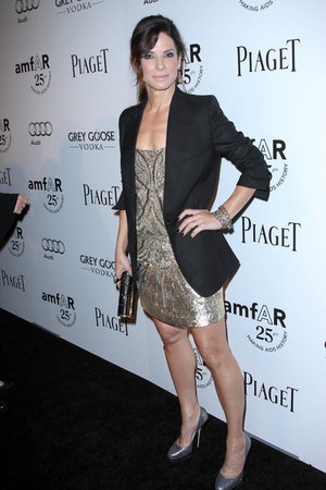 Sandra Bullock Hosts Fundraising Gala