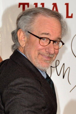 Spielberg Promotes New Film