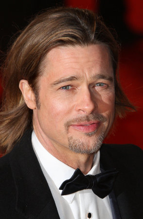 Brad Pitt Goes Back to School for Charity