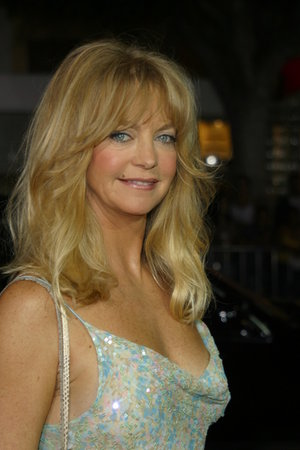 Goldie Hawn's London Launch