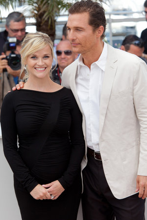 Reese and Matthew Together at Cannes