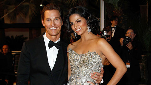 Matthew McConaughey A Married Man!