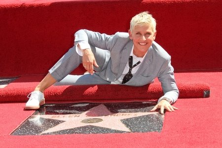 Ellen DeGeneres Gets a Star