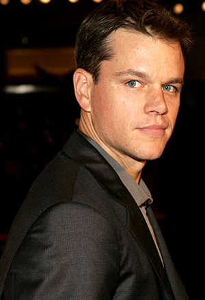 Matt Damon Stands Up 2 Cancer