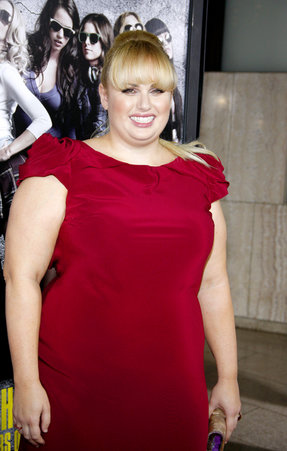 Rebel Wilson is Pitch Perfect