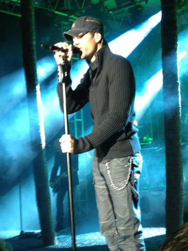 Enrique Iglesias Concert for Paralysis