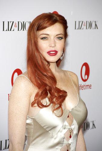 Lindsay Lohan Stars in Liz & Dick