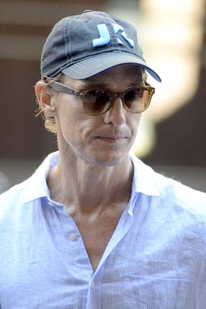Matthew McConaughey Dad to All Kids