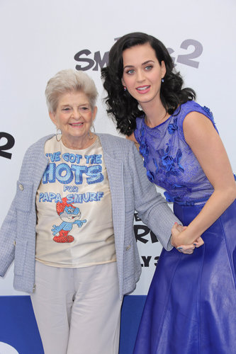 Katy Perry Brings Grandma to Smurfs 2