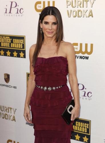 "Sandra Bullock Defies ""Gravity"""